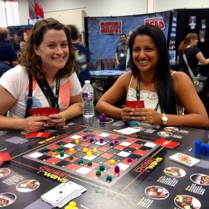 Teresa and Abby at Gen Con 2014 in Indianapolis.