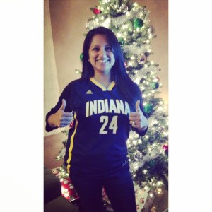 Pacers Paul George jersey.